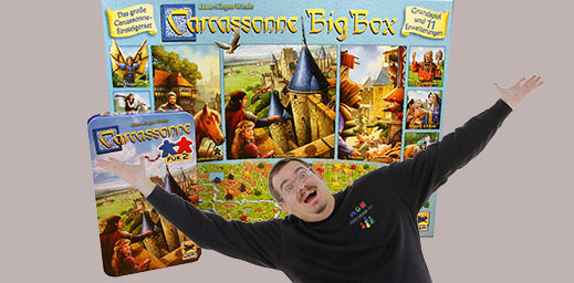 Carcassonne für 2 & Big Box 2017